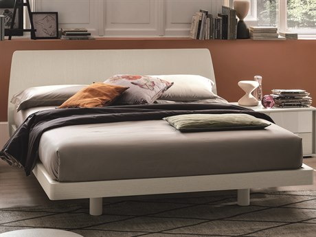 YumanMod Roger Mother Of Pearl King Queen Platform Bed