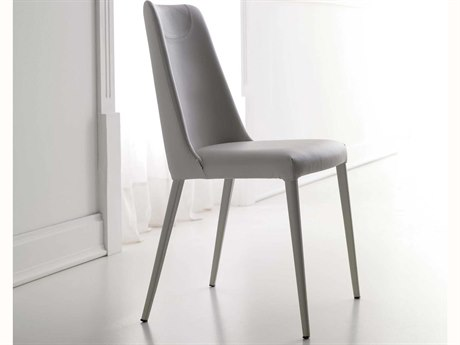 YumanMod Sally Genuine Leather Side Dining Chair (Sold in 2)