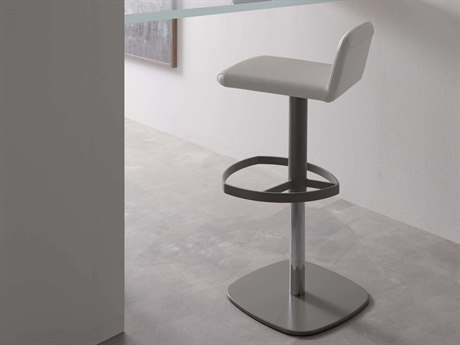 YumanMod Scout Side Adjustable Swivel Bar Height Stool