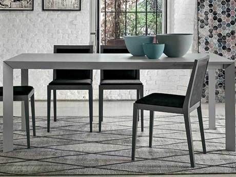 Yumanmod Twiggy Open-Pore Matt Lacquer 55.1'' - 74.8'' x 33.5'' Extendable Rectangular Dining Table YMTM010501