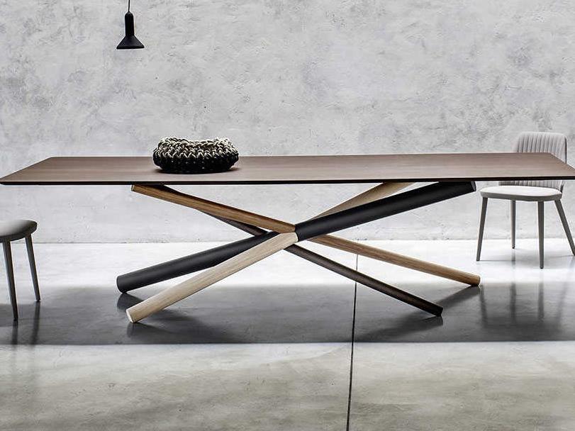 Yumanmod Westgate Wood And Metal Legs, Dining Room Table Metal Legs