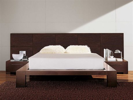 YumanMod Yoko Platform Bed with Nightstands