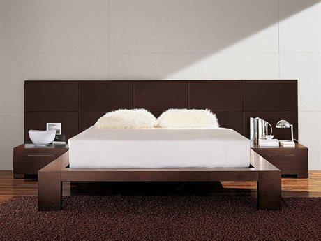 YumanMod Yoko Platform Bed with Nightstands YMCR65YCONF2