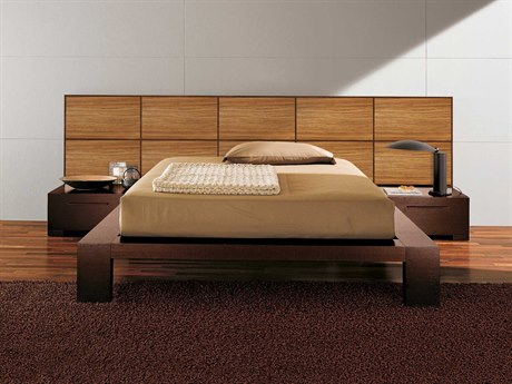 YumanMod Yoko Platform Bed with Nightstands