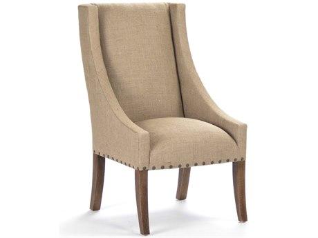 Zentique Accent Chair ZEN110CHAIRBURLAP