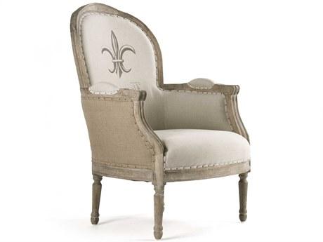 Zentique Accent Chair ZENCFH185E2725BURLAP