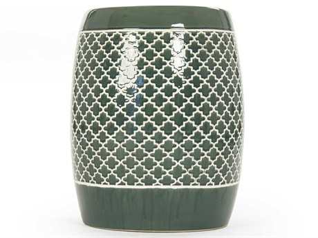 Zentique Accent Stool ZENJW160248TEAL