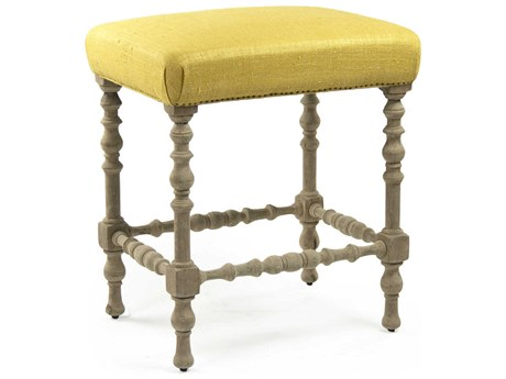 Zentique Side Bar Height Stool ZENLISH121888ABARYELLOW