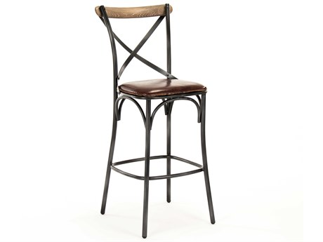 Zentique Side Bar Height Stool ZENPF31BARSTOOL