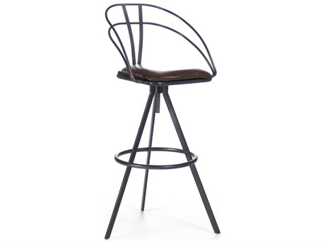 Zentique Side Adjustable Swivel Bar Height Stool ZENPF7