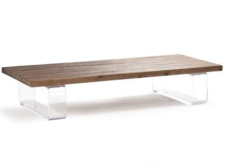 Zentique Natural Oak 71'' Wide Rectangular Coffee Table ZENZMA001