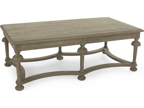 Zentique Natural Oak 51'' Wide Rectangular Coffee Table