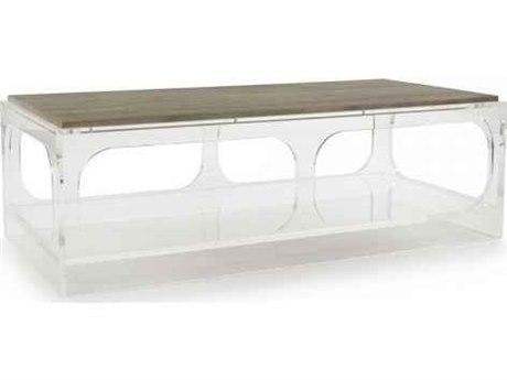 Zentique Natural Oak 59'' Wide Rectangular Coffee Table ZENZMA034