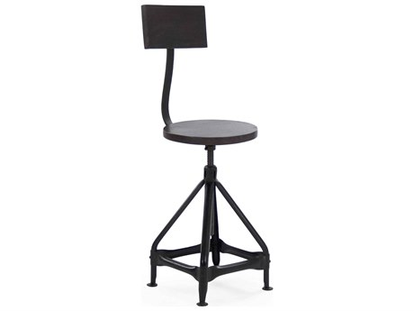 Zentique Side Adjustable Swivel Counter Height Stool ZENNH05810