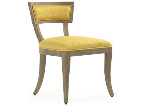 Zentique Side Dining Chair ZENLISH142291YELLOW