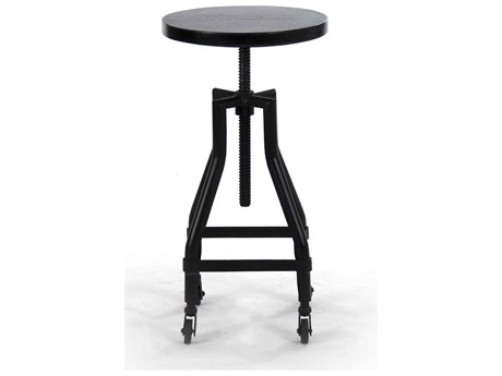 Zentique Side Adjustable Bar Height Stool Counter ZENNH05804