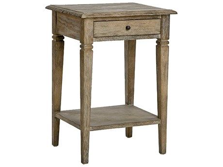 Zentique Limed Grey 19'' Wide Rectangular End Table