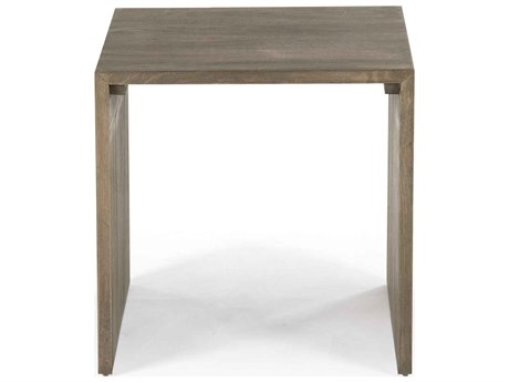 Zentique 17'' Wide Square End Table ZENZEN10045