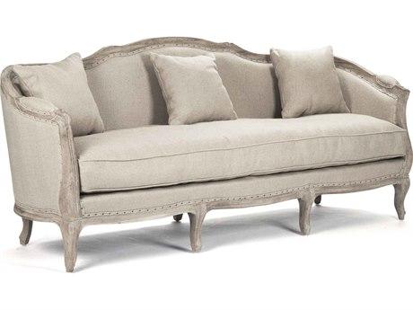 Zentique Limed Grey Oak Sofa Couch ZENCFH0073E272H009