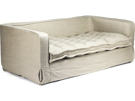 Zentique Limed Grey Oak Sofa Couch
