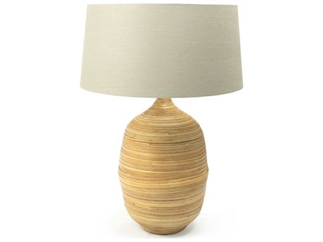 Zentique Janvier Natural 1-Light Table Lamp