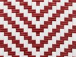 Red & White DuraWeave