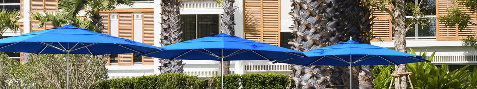 California Umbrella Sale on Outdoor Patio Umbrellas Banner