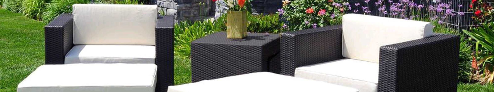 Caluco Patio Furniture & Caluco Outdoor Furniture Banner