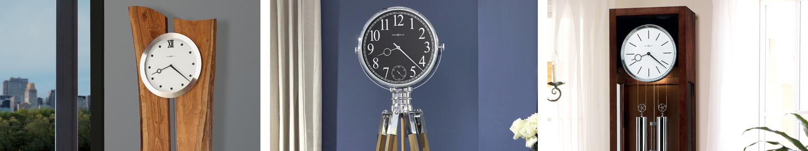 Howard Miller Clocks Banner