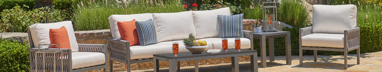 NorthCape International Wicker Outdoor Patio Furniture Banner