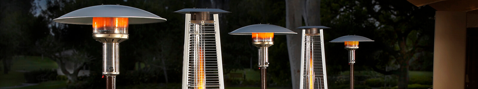 Patio Comfort Heaters & Outdoor Heaters Banner