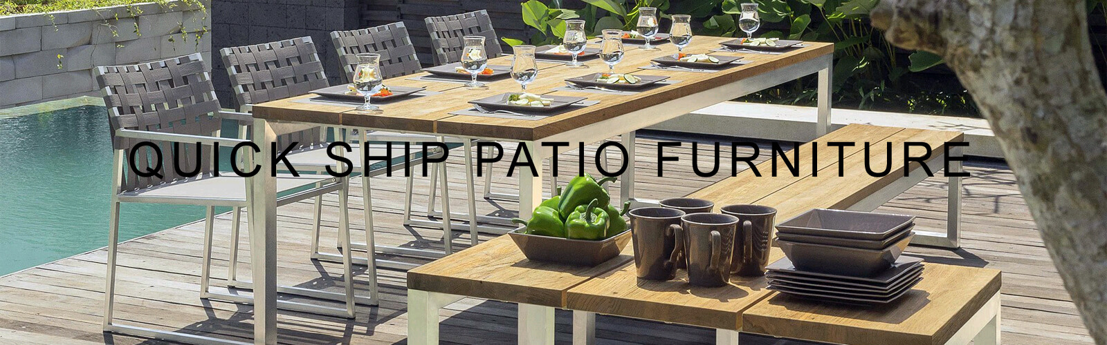 Quick Ship Patio Furniture