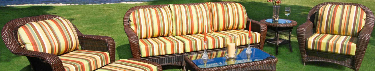 Tortuga Outdoor Furniture & Tortuga Wicker Sets Banner