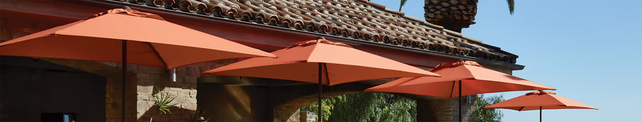 Treasure Garden Umbrella Sale | Offset & Cantilever Umbrellas Banner