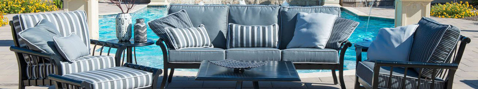 Woodard Outdoor Patio Furniture & Woodard Collections Banner