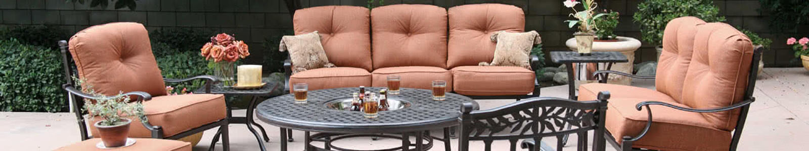 Darlee Patio Furniture & Cast Aluminum Furniture Banner