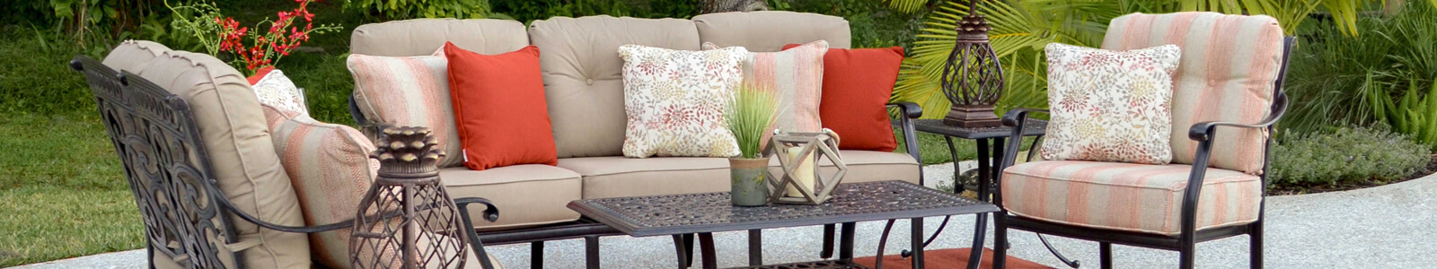 Palm Springs Rattan Furniture Sale Banner