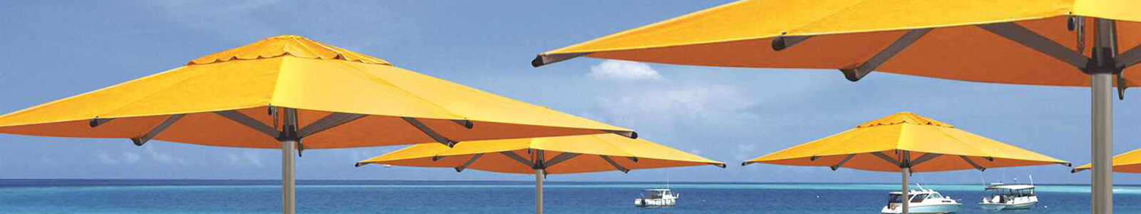 Shademaker Umbrellas: Offset & Cantilever Umbrella Sale Banner