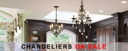 Chandeliers President's Day Sale