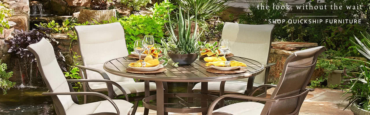 shop quickship patio furniture - Patio Living